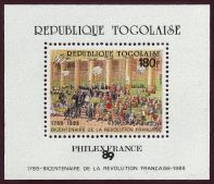 La Révolution, à travers la Philatélie Togo10