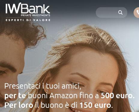 IWBANK regala BUONO AMAZON € 150 [scaduta il 30/06/2016] Cattur10