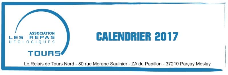 Dates des repas Ufologique de Tours 2017. Calend11