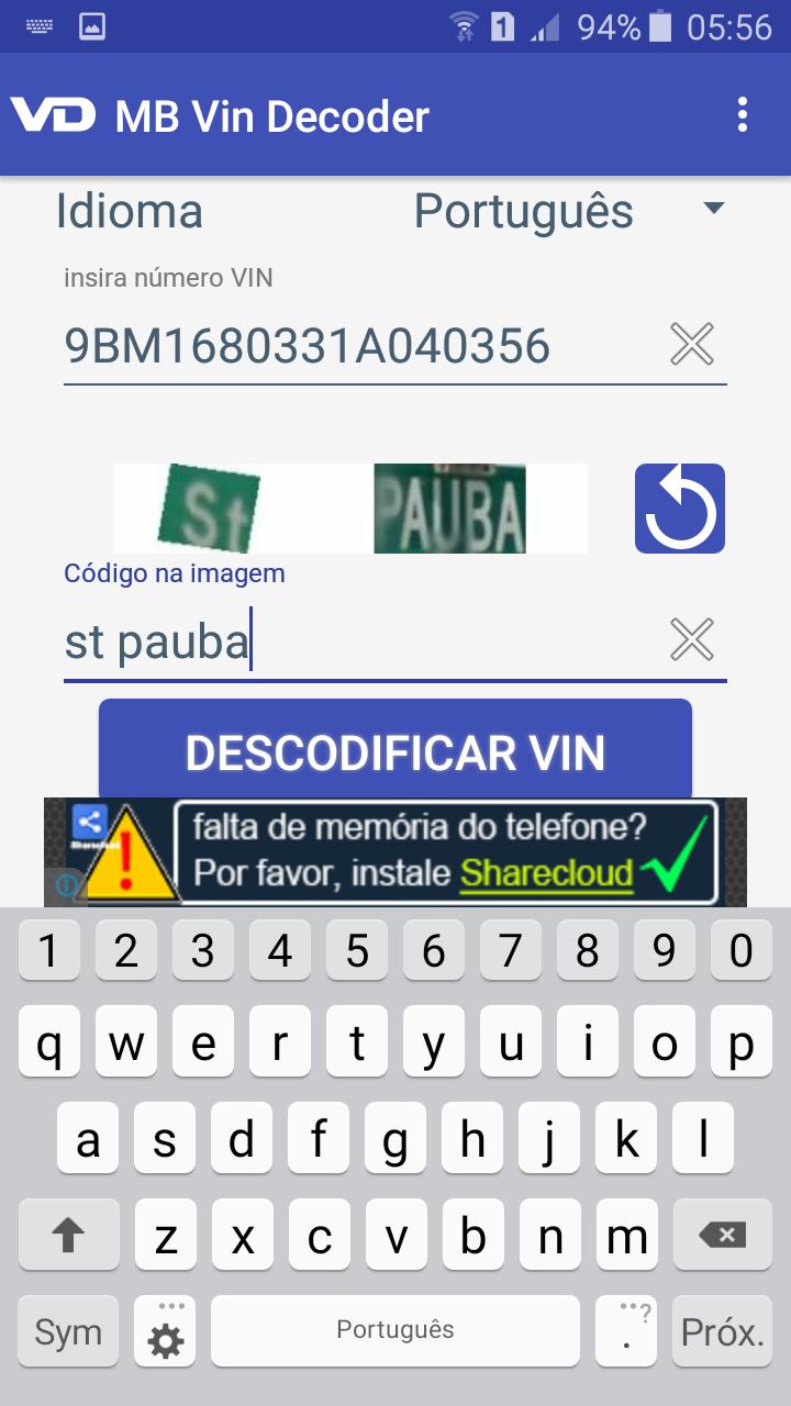 Descodificador VIN DECODER para Mercedes-Benz Screen10