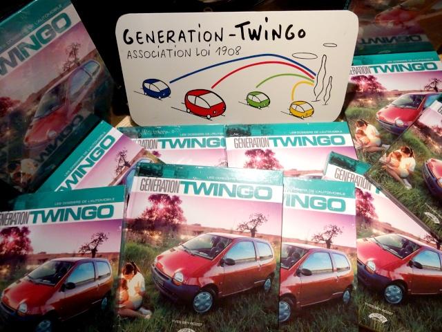"""Le livre """"Génération Twingo"""" est disponible ! Dsc03511"""