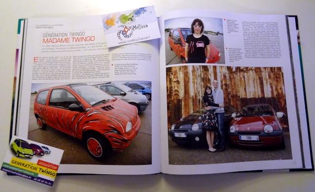 """Le livre """"Génération Twingo"""" est disponible ! Madame10"""