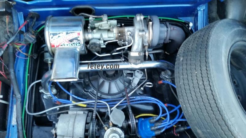 Chevrolet Corvair 1966, tout un set-up pour la courroie 2016-042