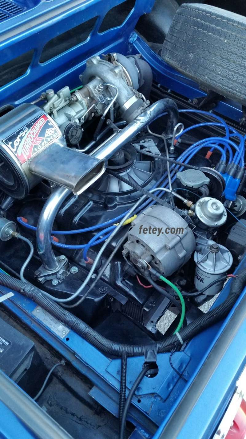 Chevrolet Corvair 1966, tout un set-up pour la courroie 2016-043