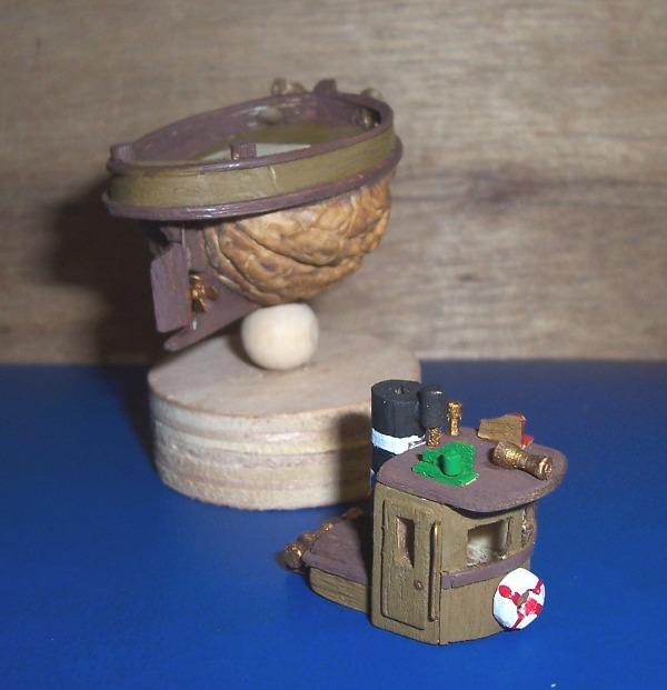 TOOT TOOT! remorqueur coquille de noix 01711