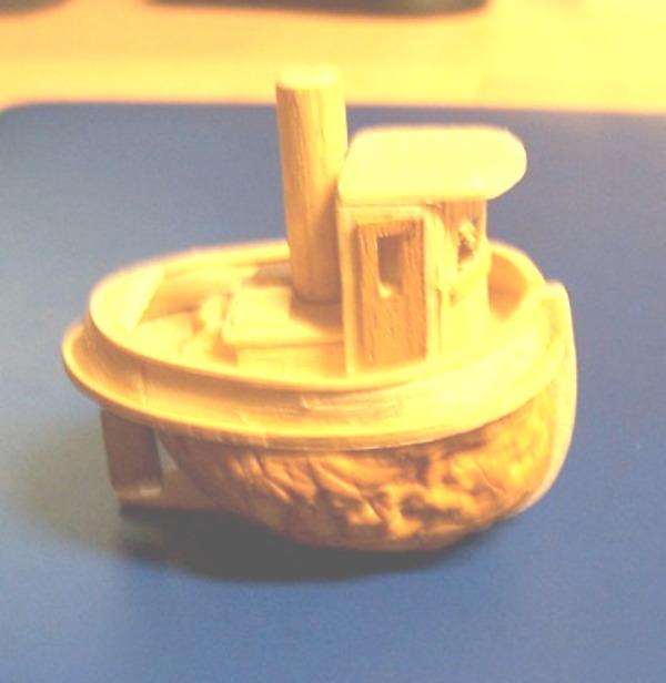 TOOT TOOT! remorqueur coquille de noix 0717