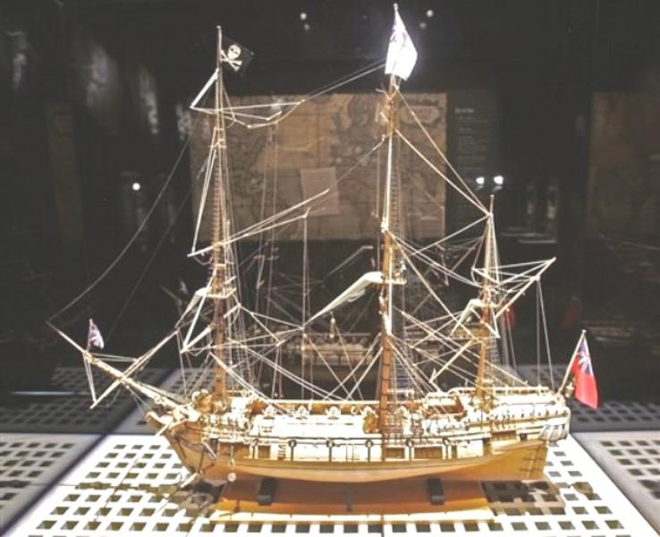 whydan bateau negrier  capture par black sam Whydah10