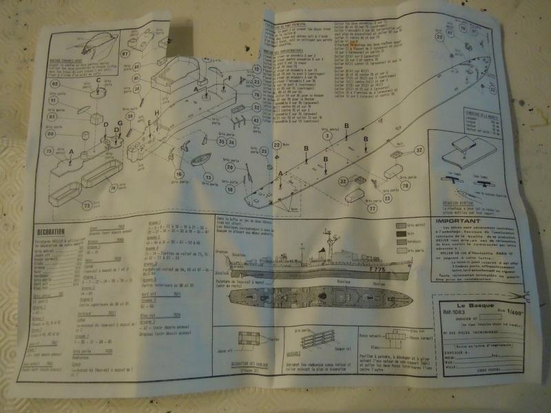 Escorteur rapide Le Basque  Echelle 1/400 N°1083 Dscn6743