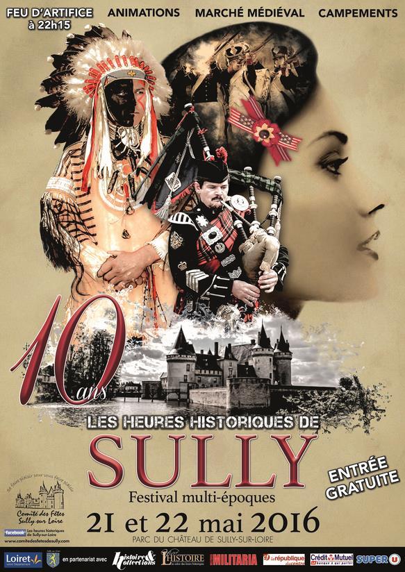 Sully sur Loire les 21 et 22 Mai Affich10