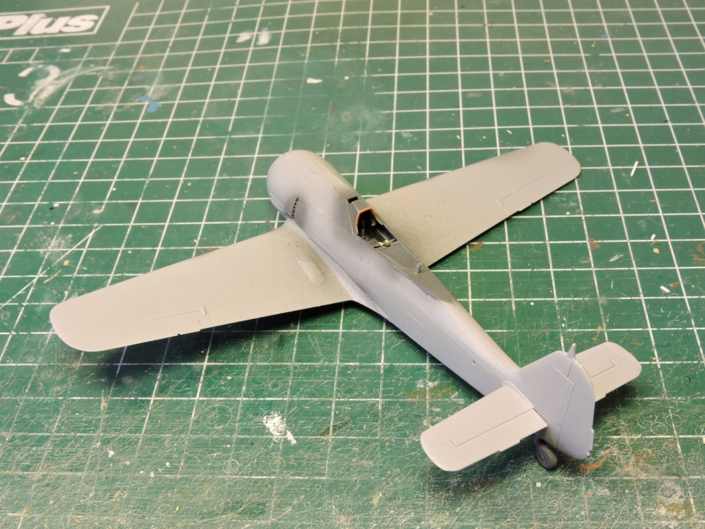 "Zvezda Focke Wulf 190 A4 ""FINIT"" Focke_77"