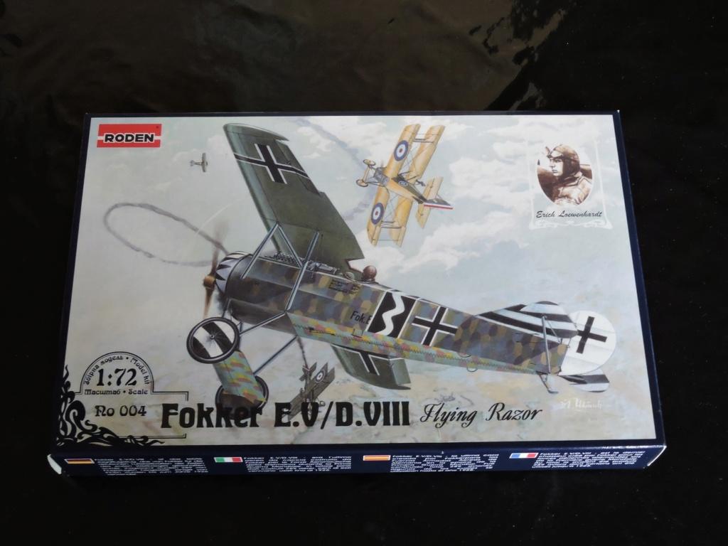 [RODEN] Fokker E.V/d.VIII aviation Néerlandaise Fokker13