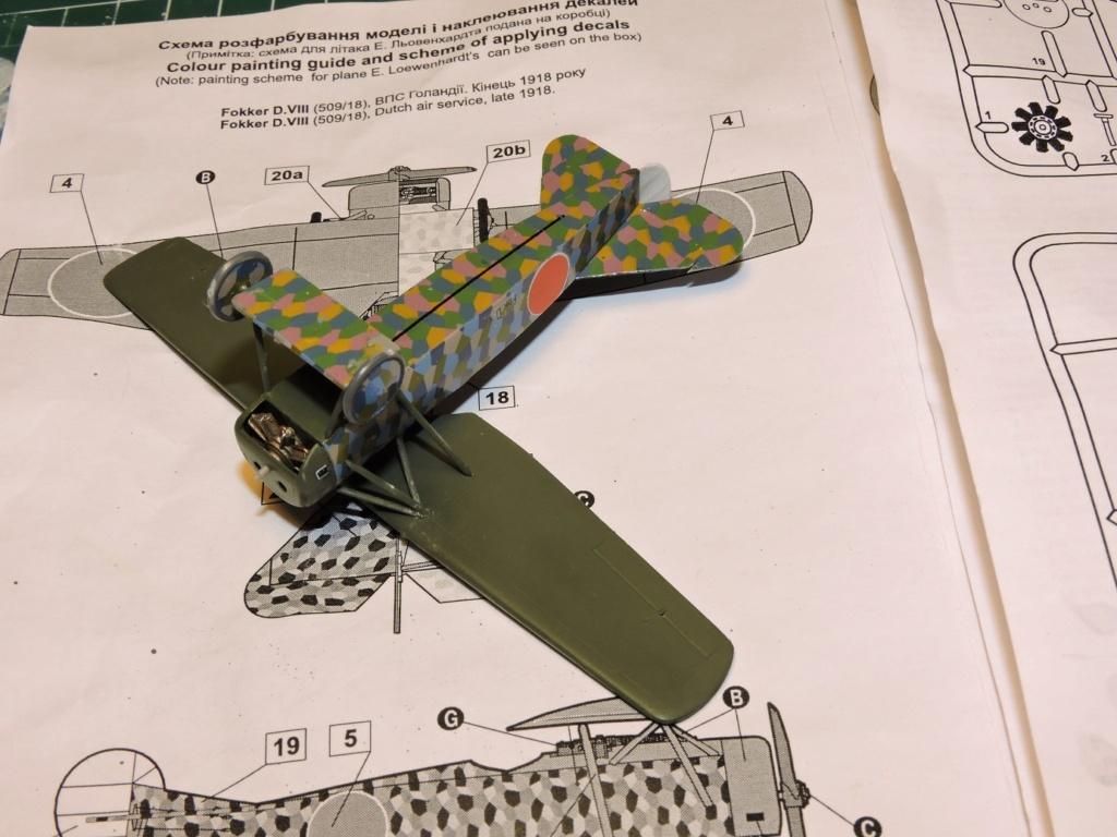 [RODEN] Fokker E.V/d.VIII aviation Néerlandaise Fokker27