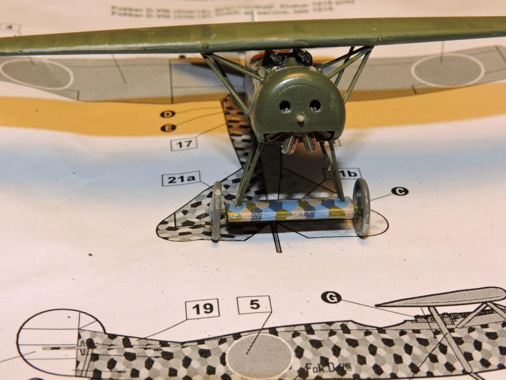 [RODEN] Fokker E.V/d.VIII aviation Néerlandaise Fokker28