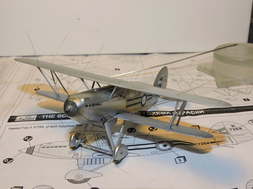 [amodel] Fury MKI Hawker35