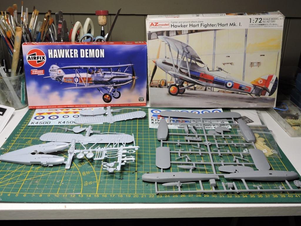 [AIRFIX/AZMODEL] Hawker Hart /Demon Hawker52