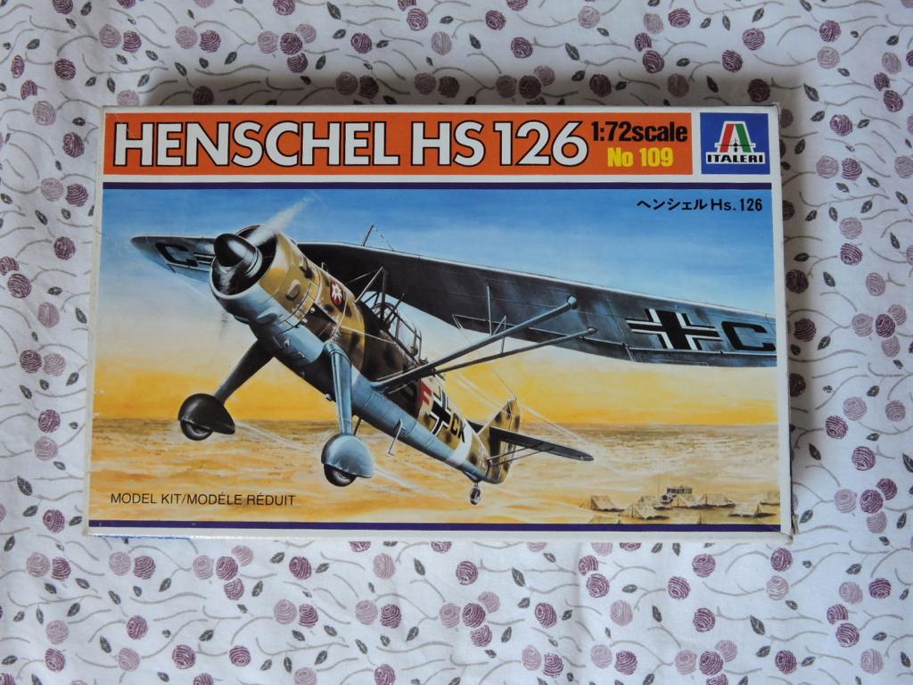 [italeri] Henschel 126 qui va aller franco  Hensch10