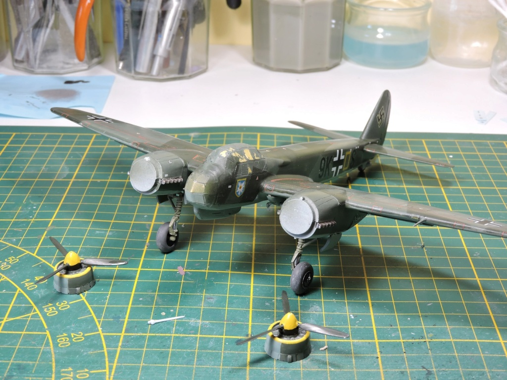 [AIRFIX/FALCON] JUNKERS 88 A1 - Page 3 Junke118