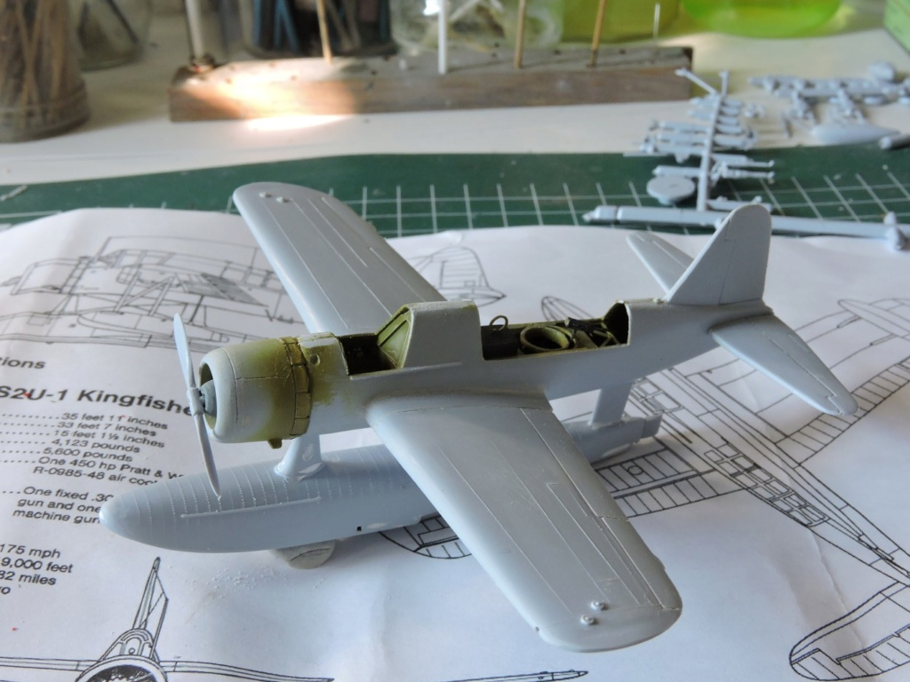 "[AIRFIX] Vought Kingfisher ""the end""  Kingfi21"