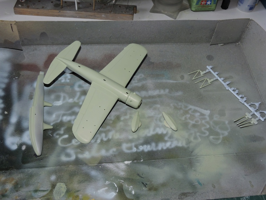 "[AIRFIX] Vought Kingfisher ""the end""  Kingfi29"