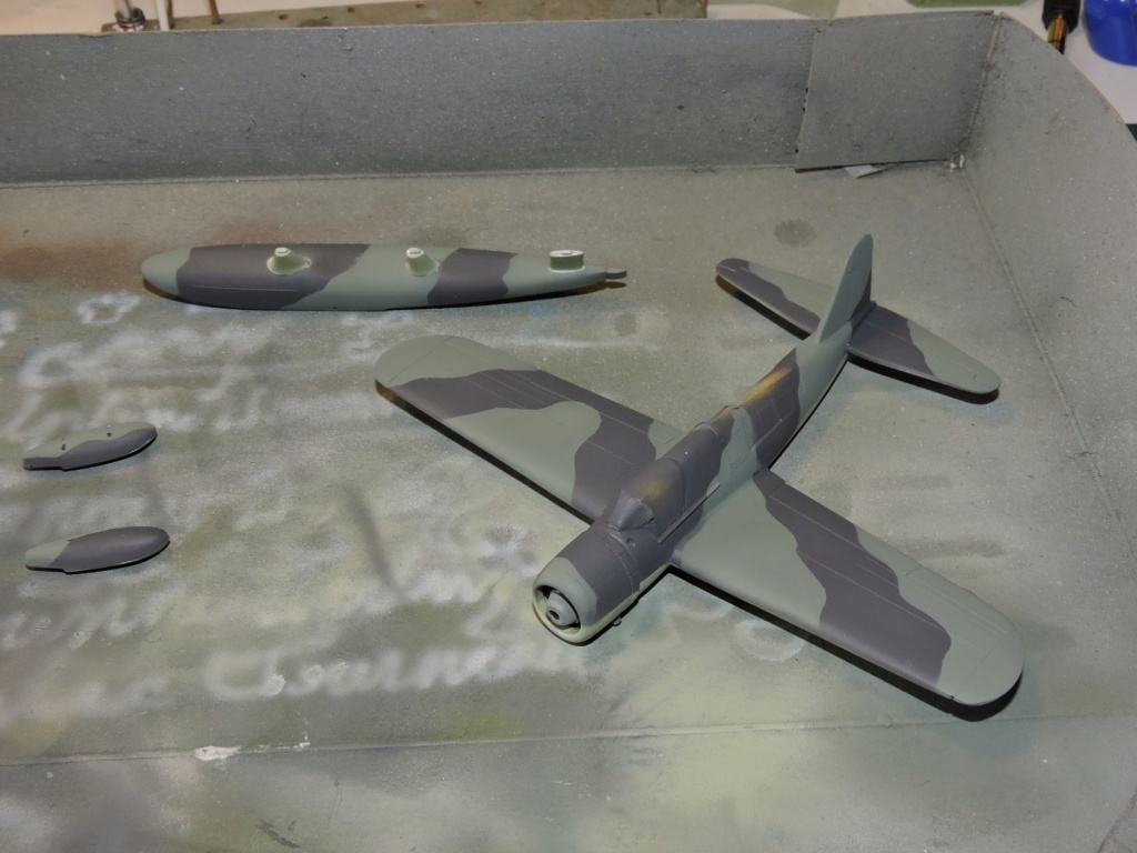 "[AIRFIX] Vought Kingfisher ""the end""  Kingfi32"
