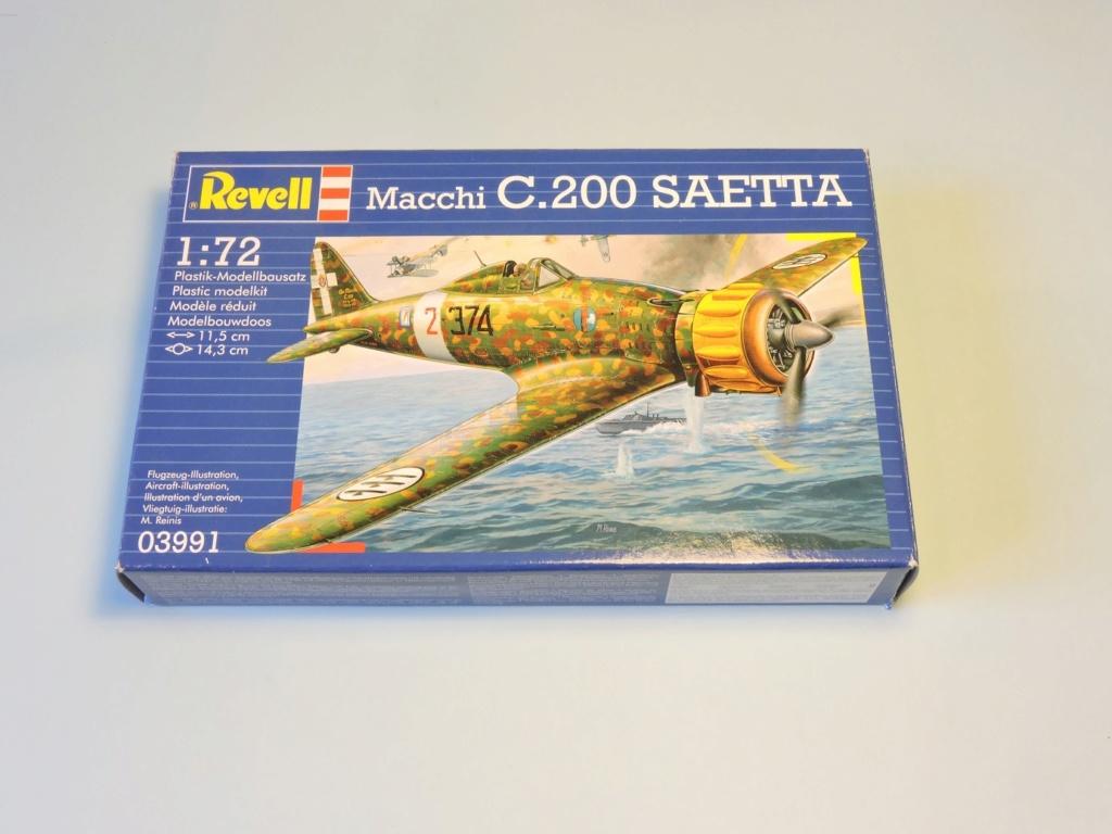 [revell] Macchi 200 Saetta Macchi10