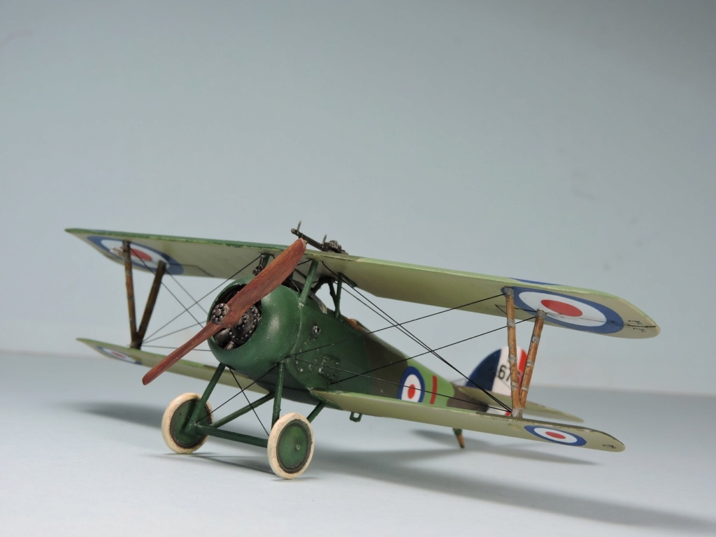 [RODEN] Nieuport 27 AU  1/72 Nieup142