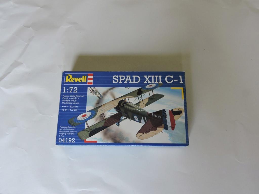 [REVELL] spad XIII avec une déco de Georges Guyemer le N°504 terminé Spad_x10