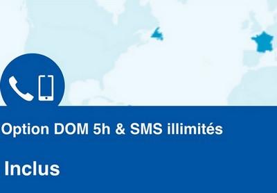 """Bouygues Telecom propose une """"Option DOM"""" incluse et gratuite Dom10"""