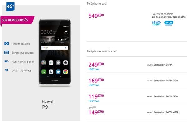Le Huawei P9 disponible chez Bouygues Telecom à partir de 99,90€ Huawei10