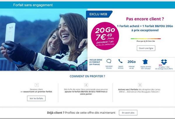 Nouvelle offre B&YOU en série limitée 20Go à 7€49/mois au lieu de 24,99€ Sans_t11