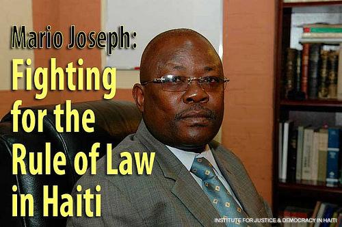 Haitian Hero Mario Joseph in Ottawa, May1, 2016 Marioj10