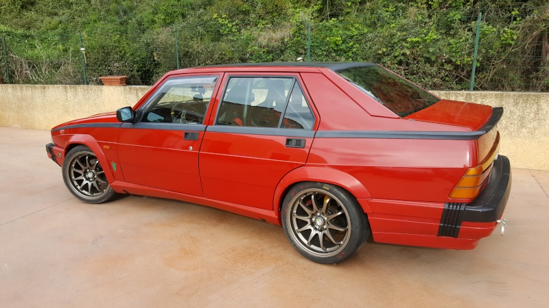 Alfa 75 turbo rouge - Page 3 20160427