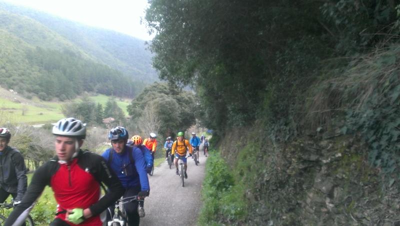 Proyecto Bici-Liébana Ruta Cabezón de Liébana 22-3-16 Imag0911