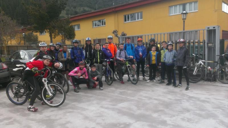 Proyecto Bici-Liébana Ruta Cabezón de Liébana 22-3-16 Imag0917