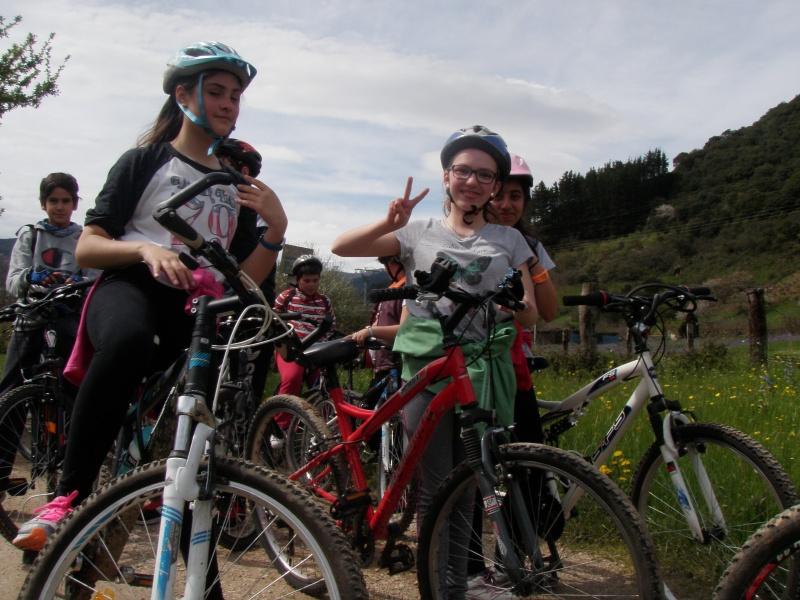 Proyecto Bici-Liébana Fiesta de la Bicicleta en Potes 19-4-16 P1010112