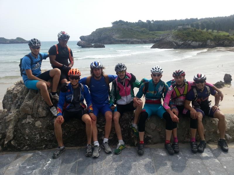 Proyecto Bici-Liébana Ruta Astur Potes-Ribadesella-Potes 30 mayo al 2 junio 2016 Playas10