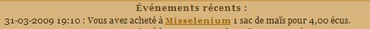 [EA] Affaire Misselenium - Escroquerie Affaire à classer Evenem29