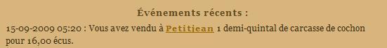 [SS] Affaire Petitjean escroquerie Affaire à archiver Evenem53
