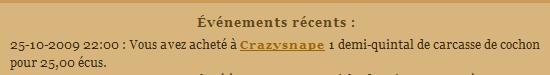 [SS] Affaire Crazysnape escroquerie à classer Evenem56