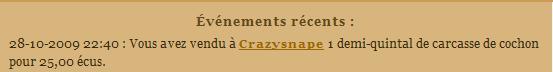 [SS] Affaire Crazysnape escroquerie à classer Evenem57