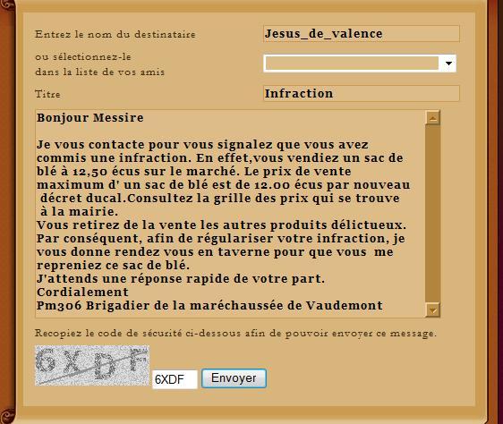 [SS] Affaire Jesus de Valence - Escroquerie Affaire à claser Lettre10