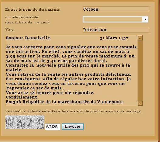 [EA] Affaire Cocoon - Escroquerie Lettre24