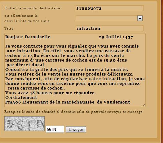 [SS] Affaire Franou972 escroquerie - à archiver Lettre49