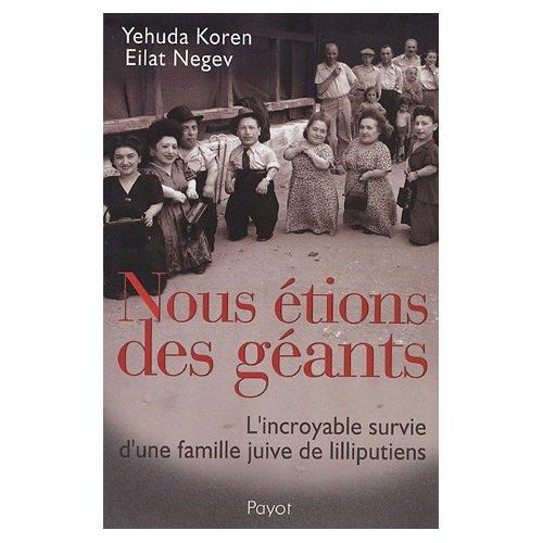 NOUS ETIONS DES GEANTS de Yehuda Koren, Eilat Negev, et Inès Lacroix-Pozzi 51gw5s10