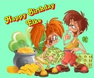 Happy birthday waschi09 Elke10