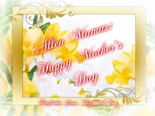 Muttertag steht im Kalender Mutter10