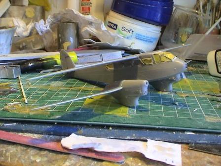 [Heller] De Havilland DH89 Dragon Rapide + Conversion DH 84 Dragon Dh1710