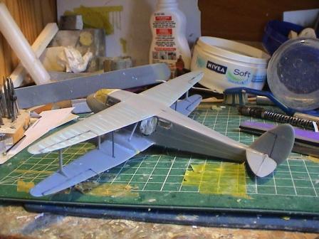 [Heller] De Havilland DH89 Dragon Rapide + Conversion DH 84 Dragon Dh1810