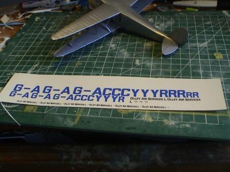 [Heller] De Havilland DH89 Dragon Rapide + Conversion DH 84 Dragon Dh2610