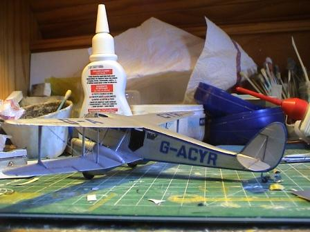 [Heller] De Havilland DH89 Dragon Rapide + Conversion DH 84 Dragon Dh2710